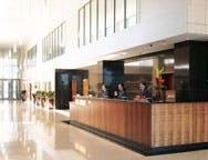 Clayton Hotel Reception - Dublin Airport