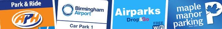 Birmingham Airport Parking Logos
