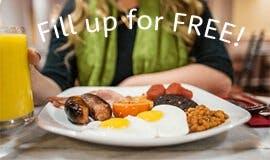 East Midlands Airport Free Breakfast