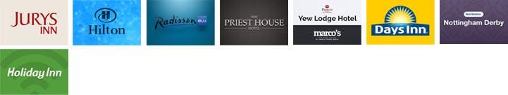East Midlands Airport Hotels Breakfast Logos