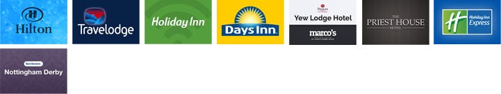 East Midlands airport hotels with Park and Ride parking