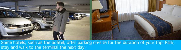 Gatwick Sofitel with parking