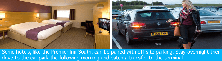 Manchester Premier Inn with parking