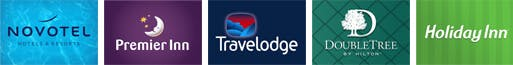 Hotels at Newcastle airport with park and ride parking logos