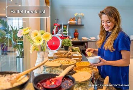 Stansted Radisson Blu upgrade breakfast