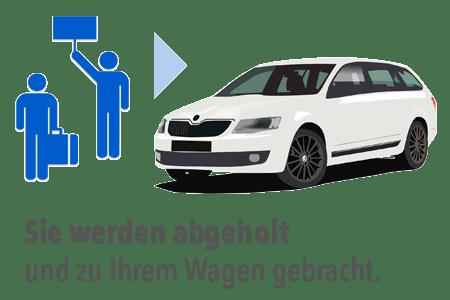 Kostenloser Shuttle zum Flughafen Frankfurt