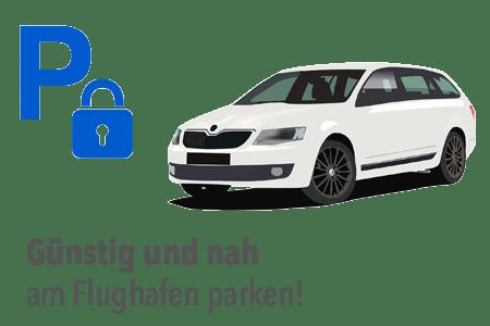 Parken Sie günstig direkt am Flughafen Frankfurt
