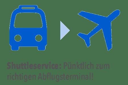 Shuttle-Transfer zum Flughafen Frankfurt