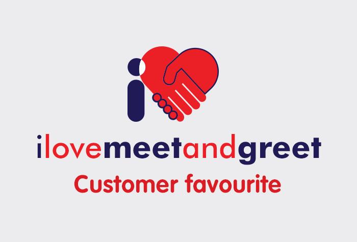 I Love Meet and Greet - all terminals logo