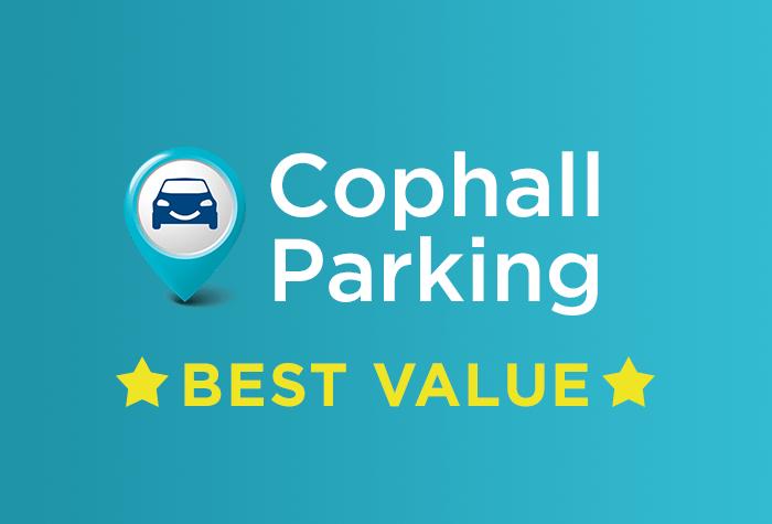 Cophall Parking - all terminals logo