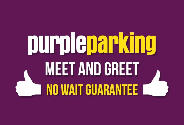 Purple Parking Meet and Greet T5 logo