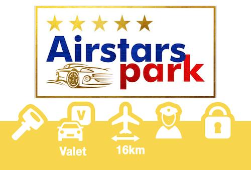 Airstarspark Parkdeck Frankfurt Valet nicht überdacht