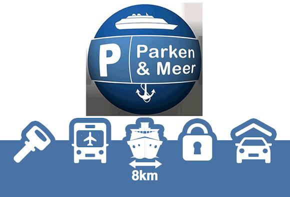 Parken und Meer Shuttle Parken Parkhalle Bremerhaven