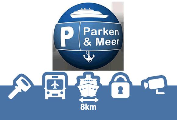 Parken und Meer Shuttle Parken Parkplatz Bremerhaven