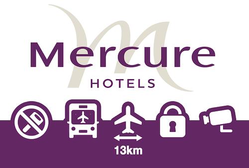 Mercure Hotel Düsseldorf Airport Hotelparkplatz