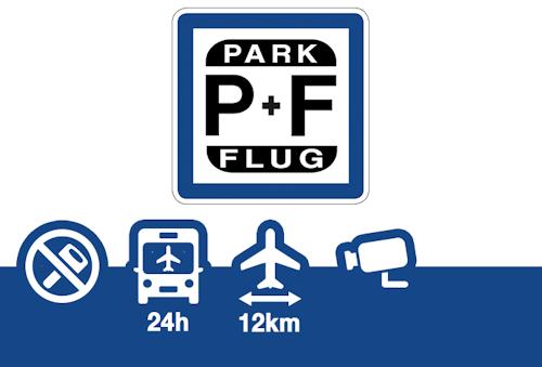 Park + Flug Parkhaus Frankfurt Oberdeck