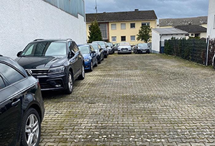Parkplatzansicht