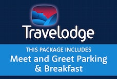 STN Travelodge with Meet and Greet with breakfast