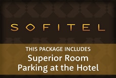 LGW Sofitel superior room with parking at the hotel