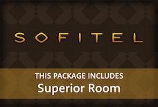 LGW Sofitel with superior room