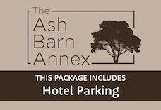 STN Ash Barn Annex with hotel parking