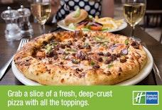 Holiday Inn Express, Birmingham NEC Pizza Close Up
