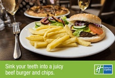 Holiday Inn Express, Birmingham NEC burger