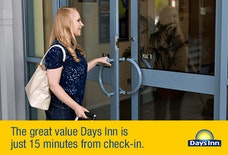 Days Inn Donington EMA entrance