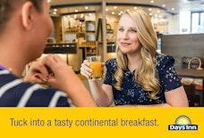 Days Inn Donington EMA breakfast area