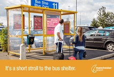 Long Stay T1 and 3 Bus stop