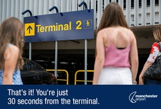 Meet and Greet T2 Walking to terminal