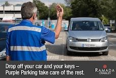 Ramada Crawley parking