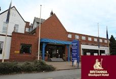 MAN Britannia Stockport hotel Exterior Front tile