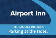 LGW Airport Inn tile parking at hotel