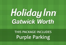 LGW Holiday Inn Gatwick worth with Purple Parking