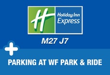 Express by Holiday Inn M27 J7 with breakfast