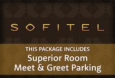 LGW Sofitel superior room meet and greet tile