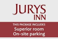 EMA Jurys Inn sup room onsite parking