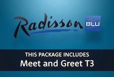 MAN Radisson Blu with meet and greet T3