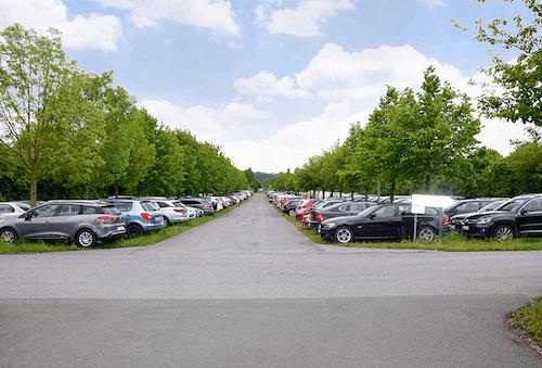 Flughafen-Parkplatz P6 Paderborn