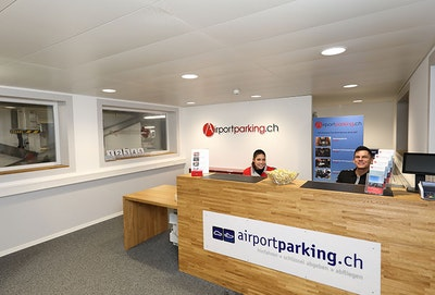 Airportparking.ch Valet Parkplatz Parkservice