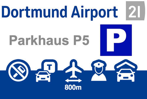 Dortmund Airport Parkhaus P5